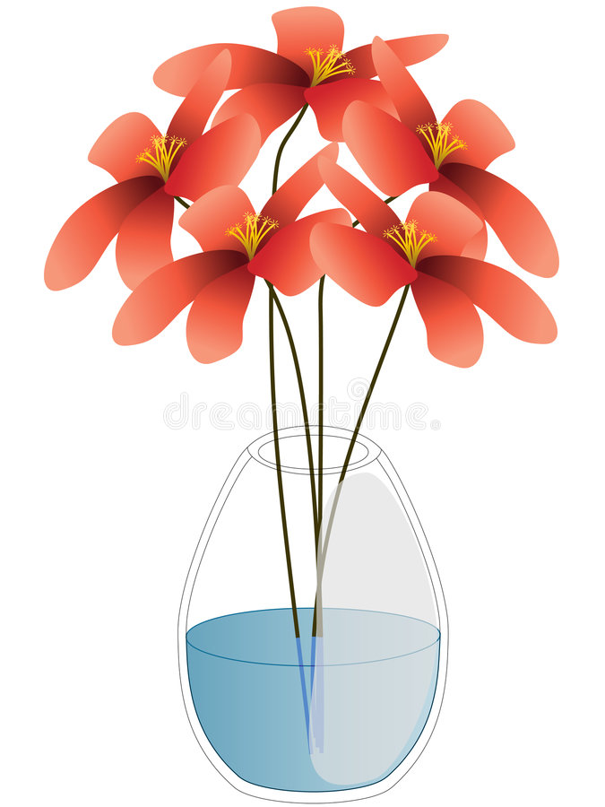Download Flowers stock vector. Image of petals, graphic, gift, decoration - 7377506