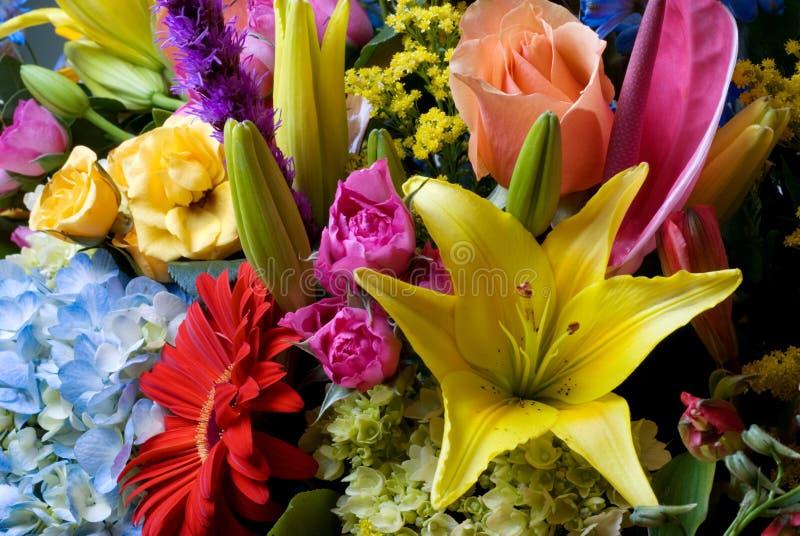 Flowers arrangement royalty free stock photos