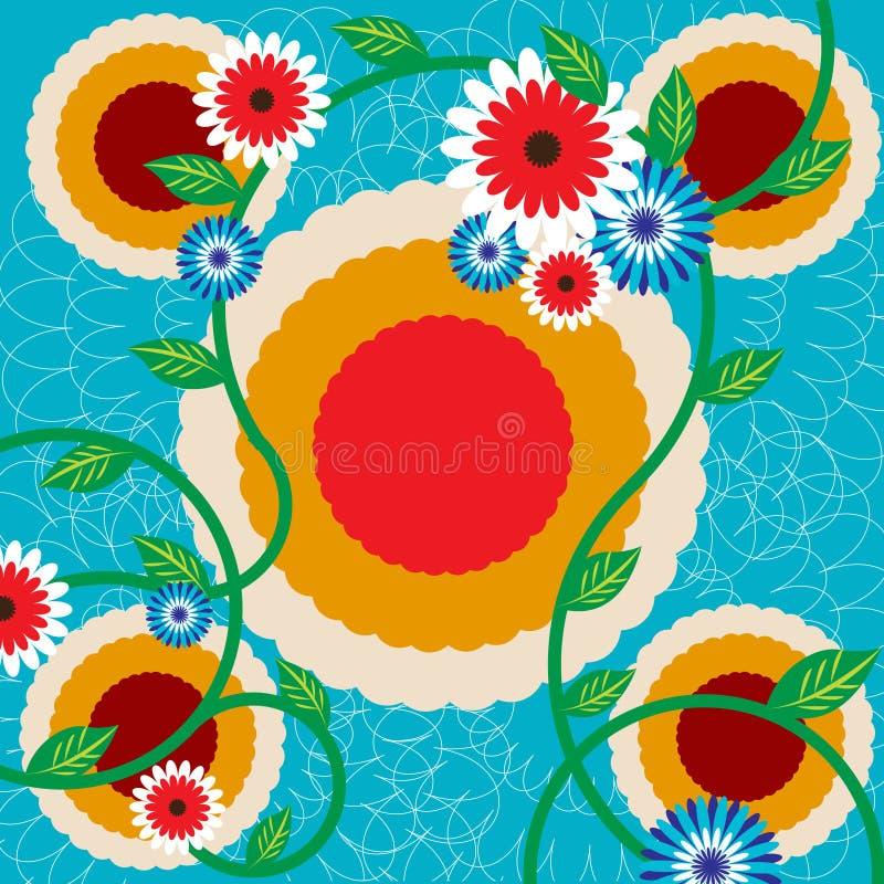 Flowers background stock illustration