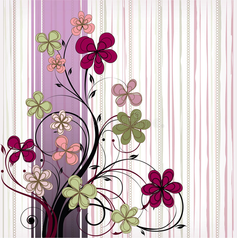 Download Flowers stock vector. Illustration of image, abstract - 34183358