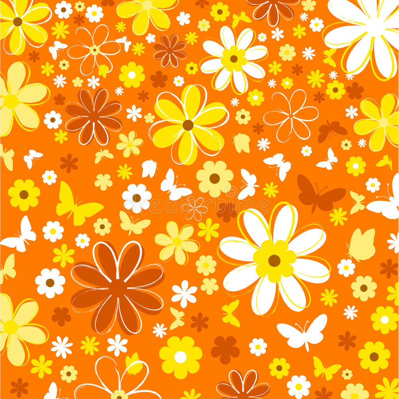 Download Flowers and butterflies stock vector. Image of delicate - 517139