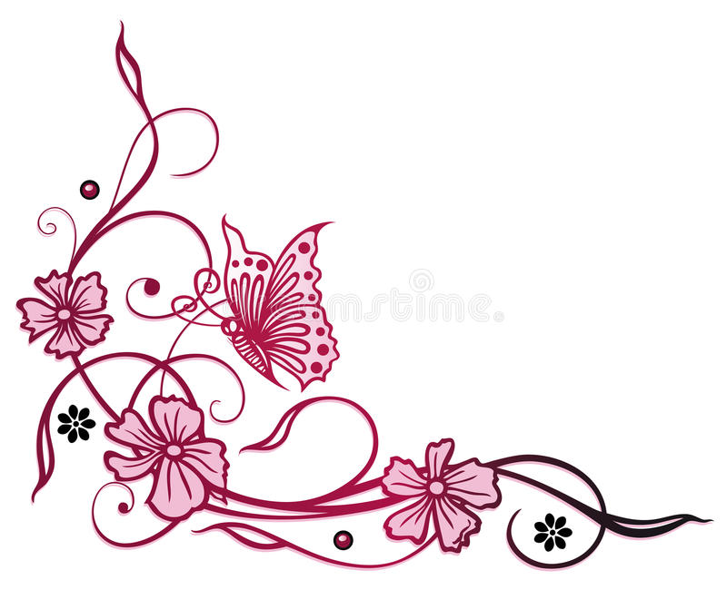 Download Flowers, butterfly stock vector. Illustration of flower - 37567888