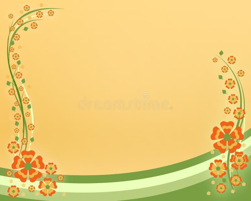 Download Flowers card stock illustration. Image of leaves, festive - 16091696