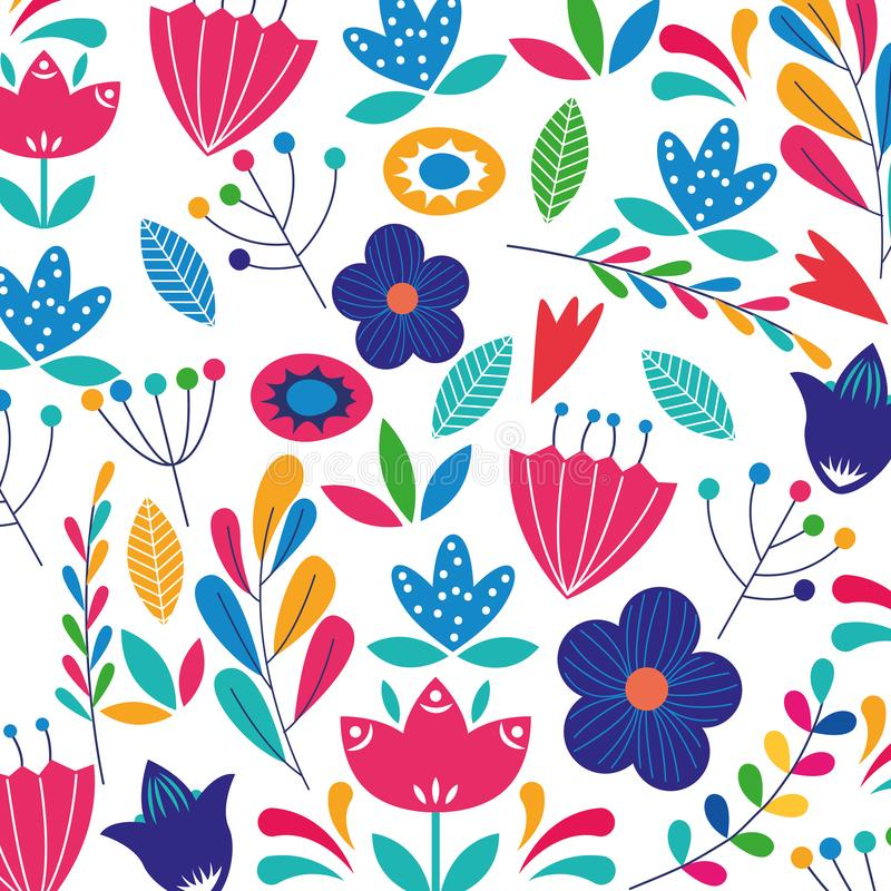 Free Flowers Colorful Backgorund Stock Photography - 145592152