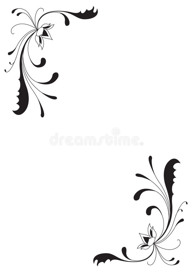 Download Flowers And Curves Stock Photos - Image: 7106303