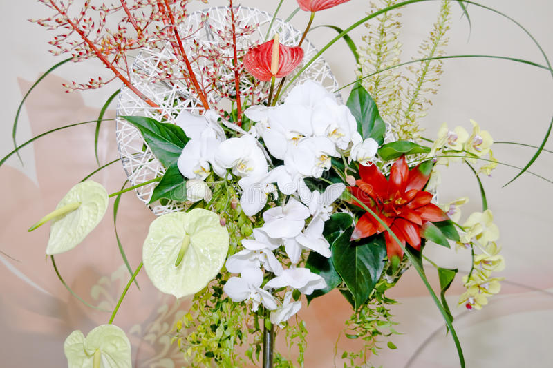 Flowers Decorate Stock Photography