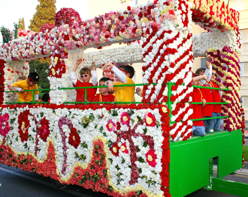 Flowers festival stock photography