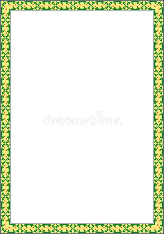 Download Flowers frame stock vector. Illustration of cadre, grunge - 7847636