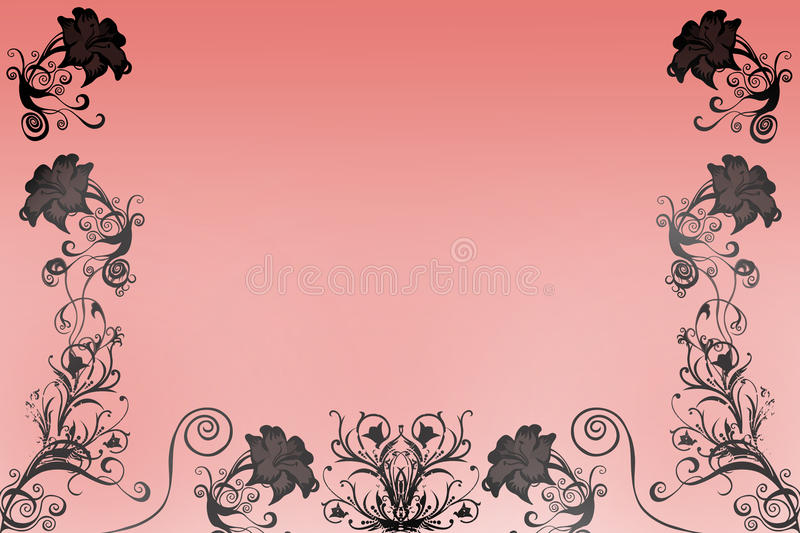 Download Flowers with gradient stock illustration. Image of invitation - 15283284