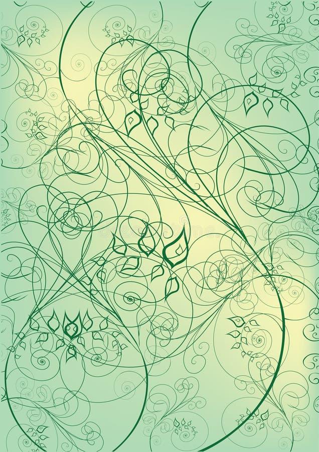 flowers green leaf иллюстрация штока