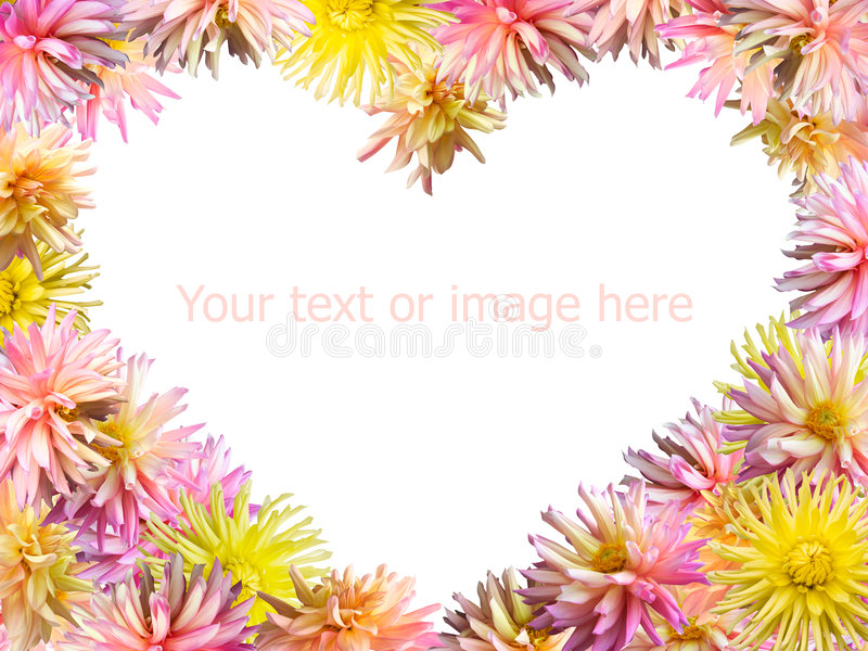 Download Flowers heart stock image. Image of background, plant - 4083015
