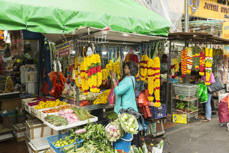 Flowers in Hindu culture stock photo