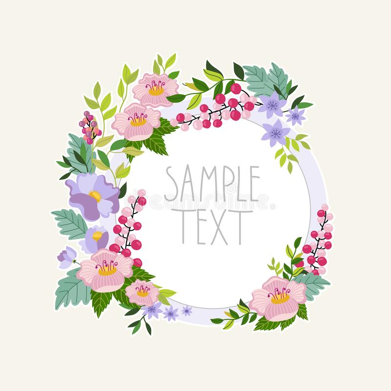 Bitmap flowers collection. Flowers isolated collection. Bitmap flowers and floral. Vintage and retro flowers and floral elements royalty free illustration
