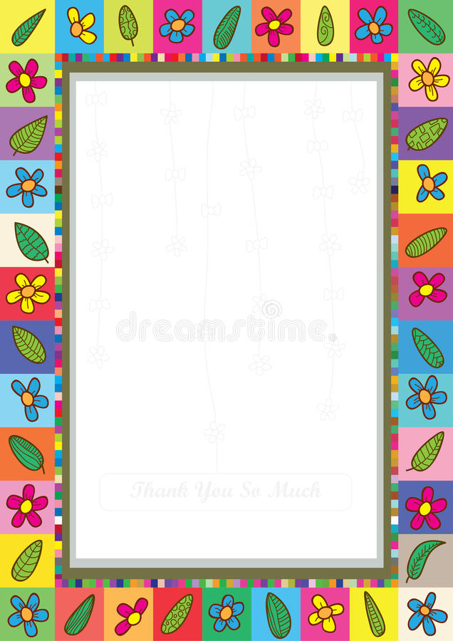 Download Flowers Leaves Frame_eps Royalty Free Stock Images - Image: 22564329