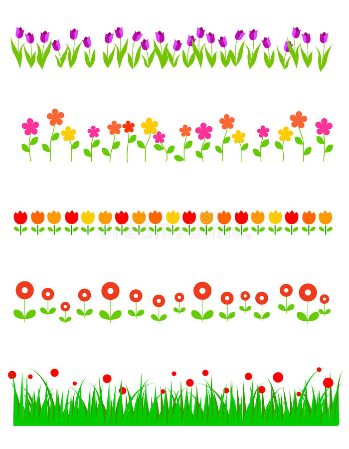 Free Flowers Line / Divider Stock Image - 19533511