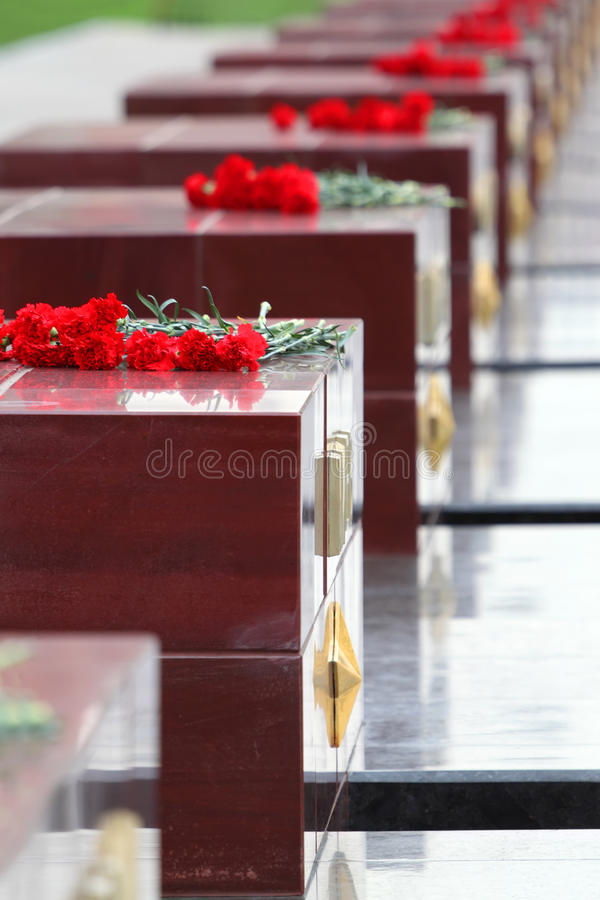 Download Flowers At Memorial To Tomb Of Unknown Soldier Stock Image - Image of recollection, laying: 23997375
