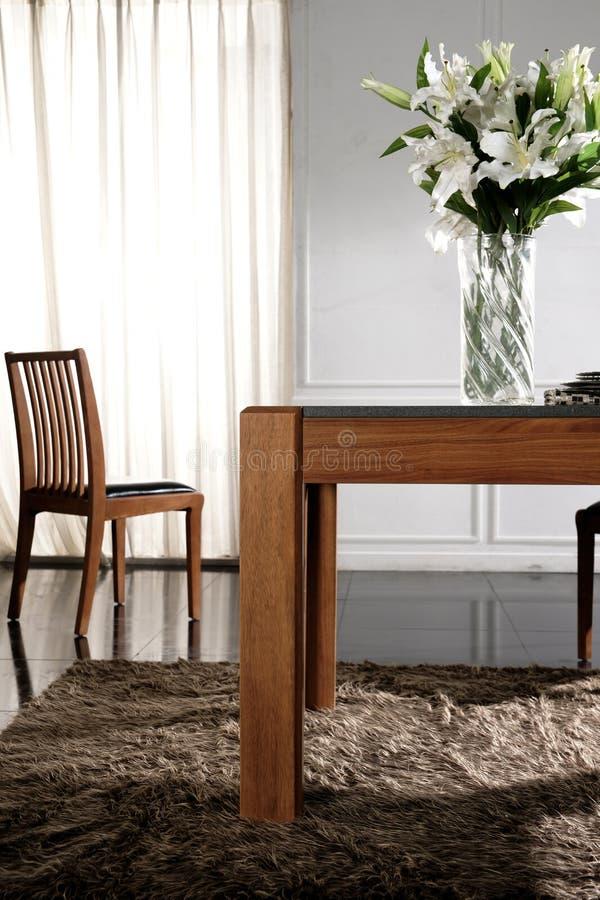 Download Flowers in modern bedroom stock image. Image of furniture - 21016773