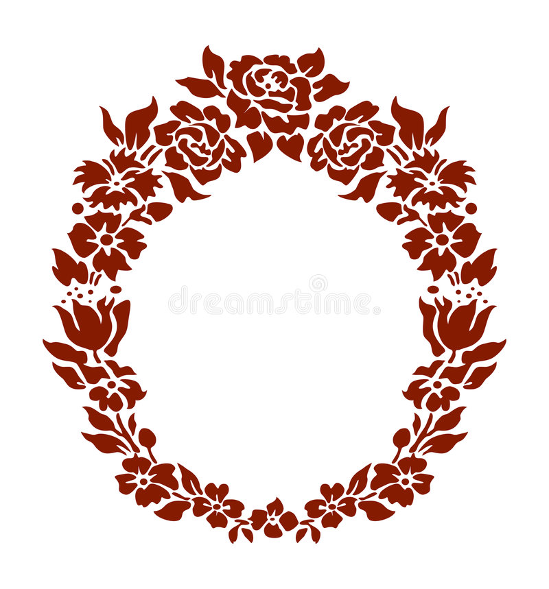 Download Flowers ornament stock vector. Image of graphic, branches - 1210497