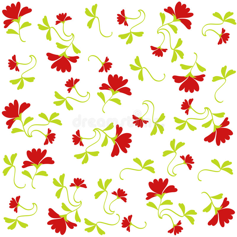 Download Flowers pattern stock illustration. Image of graphic, floral - 2427499