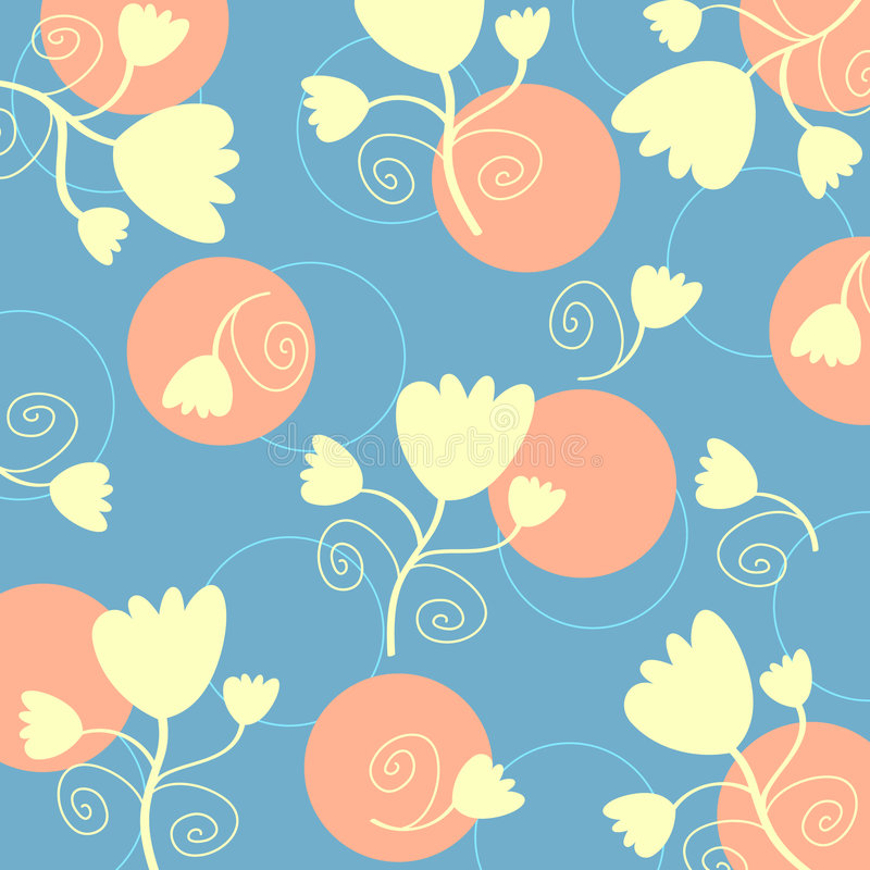 Flowers pattern vector illustration