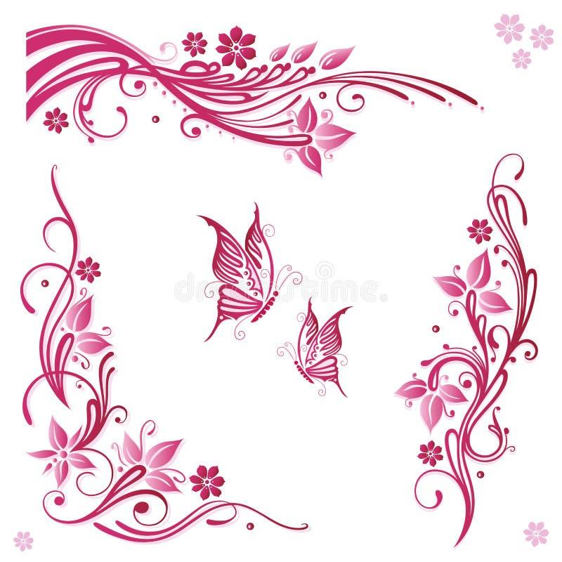 Download Flowers, pink, summer stock vector. Image of elegant - 33651144