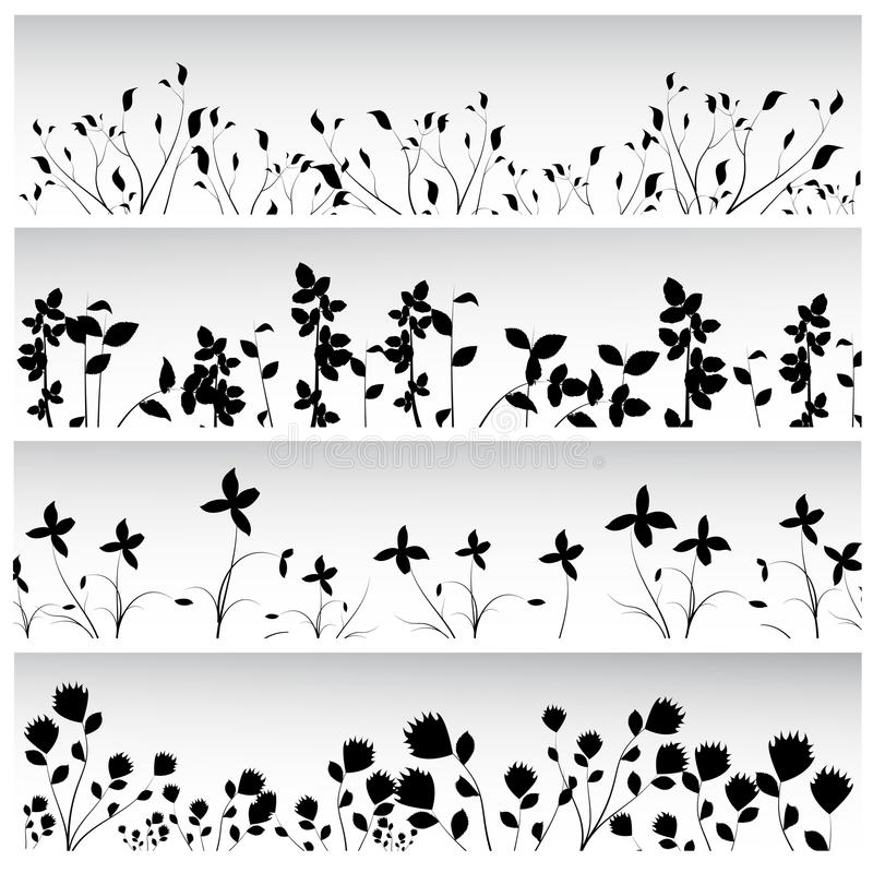 Download Flowers and plants set stock vector. Image of creativity - 14852605