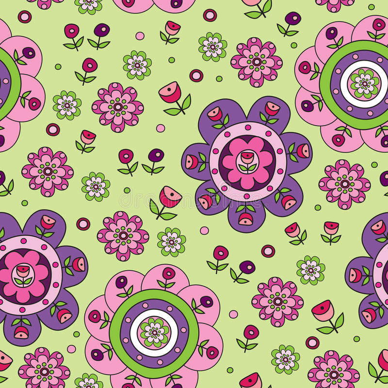 Download Flowers seamless pattern stock illustration. Image of floral - 25552470