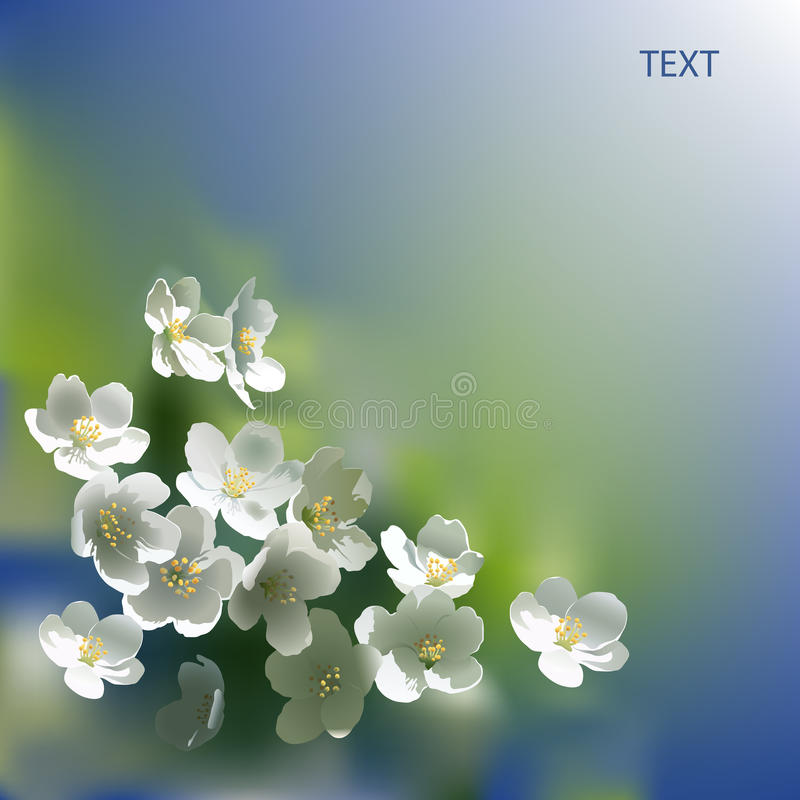 Download Flowers stock illustration. Image of greens, illustration - 38883507