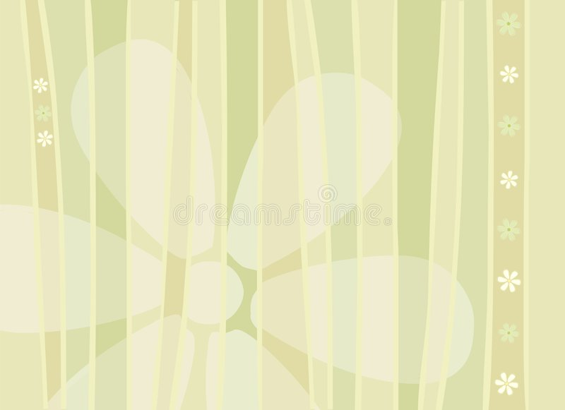 Flowers and Stripes Background royalty free stock images
