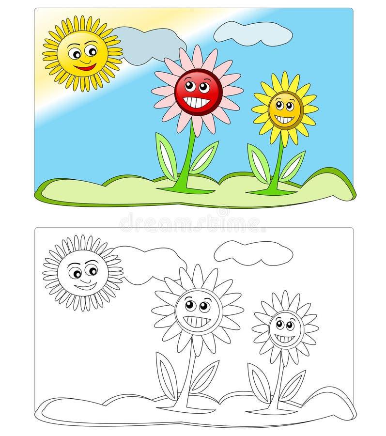 Flowers & sun