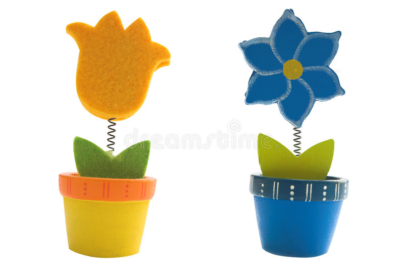 Flowers toys royalty free stock photography