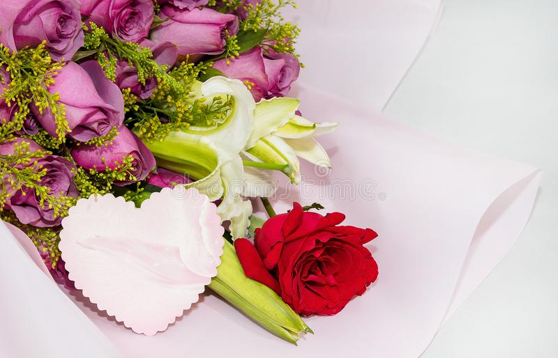 Bouquets with cards stock image. Image of bouquets, express - 113653539