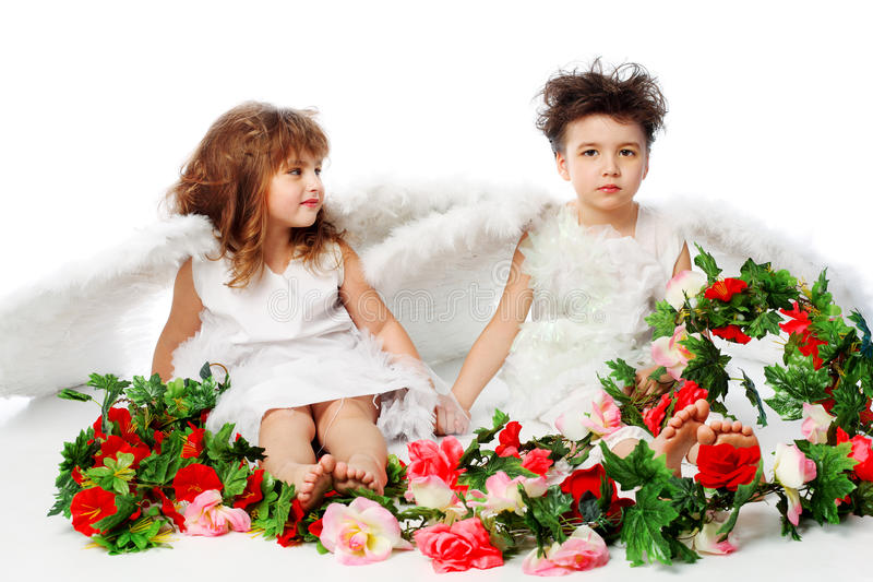 Download Flowers on valentine stock photo. Image of child, cheerful - 12719528