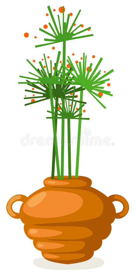 Download Flowers in vase stock vector. Image of lilac, ornamental - 19685306