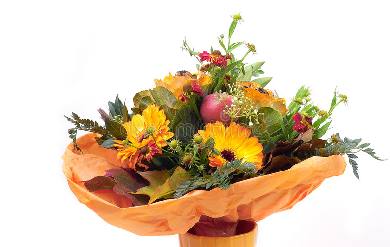 Download Flowers in a vase stock photo. Image of praline, holiday - 297302