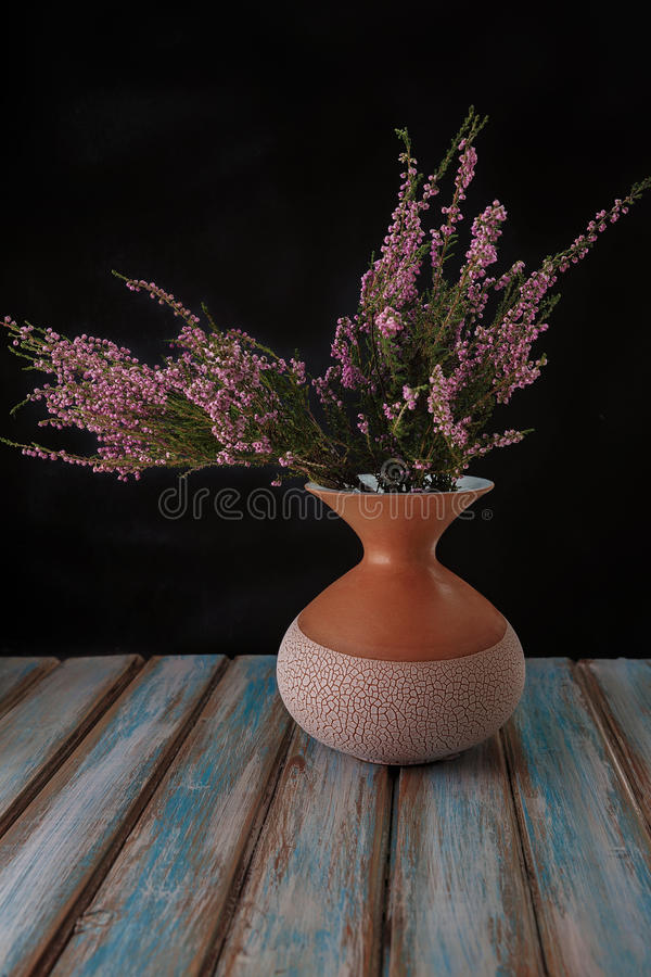Flowers in a vase. stock photography