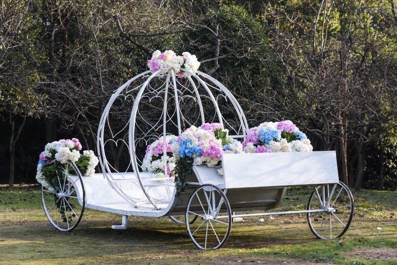 Flowers vehicle royalty free stock photo