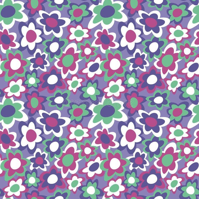 Flowers_Violet cobarde stock de ilustración