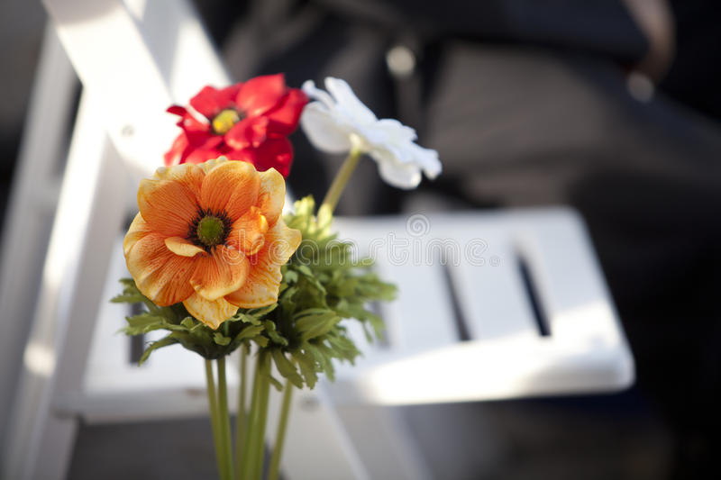 Flowers wedding royalty free stock photography