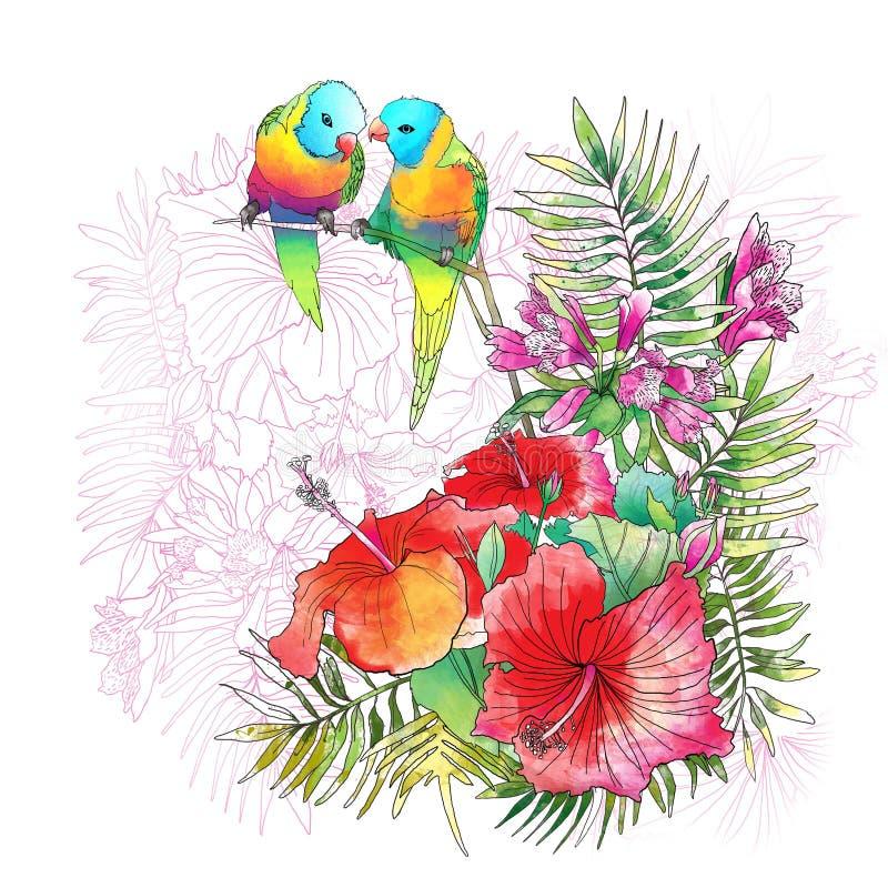flowers1 ελεύθερη απεικόνιση δικαιώματος