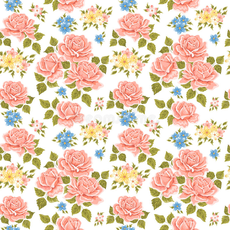 flowery ταπετσαρία ανασκόπησης απεικόνιση αποθεμάτων