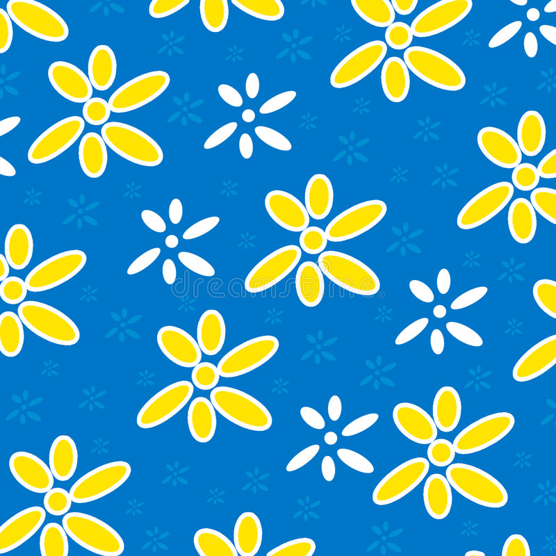 Flowery background stock photography