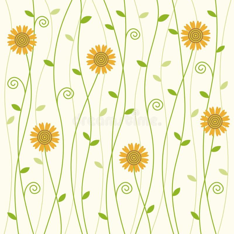 Free Flowery Vine Background Pattern Royalty Free Stock Photos - 58591948