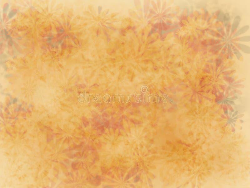 Flowery wallpaper vector illustration