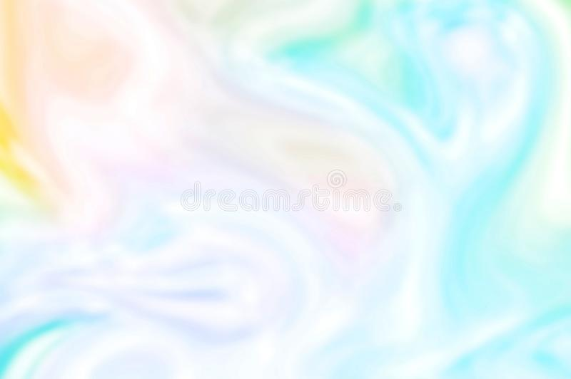 Flowing colorful bakground, elegant luxury material stock photo