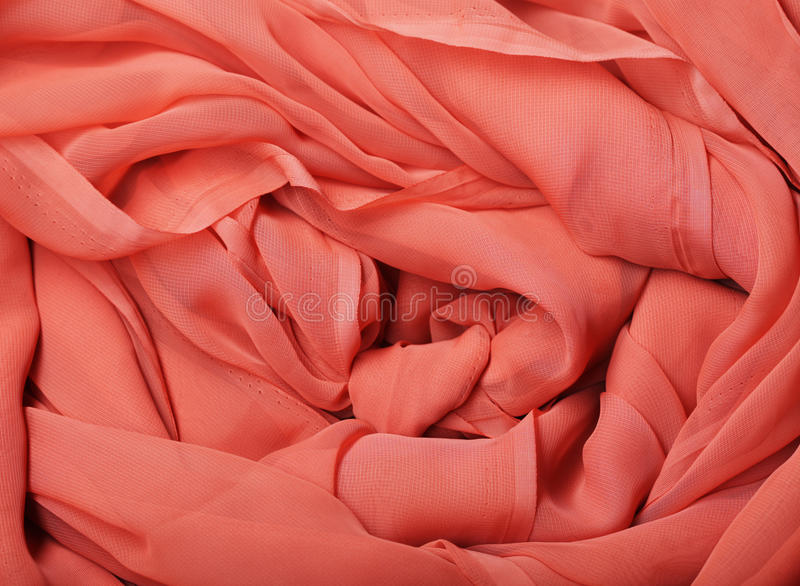 Flowing red fabric royalty free stock images
