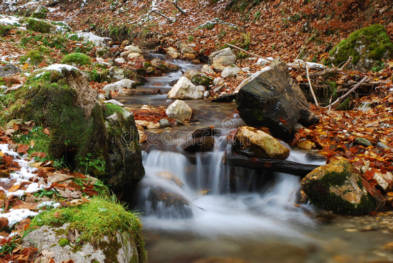 Download Flowing Water Royalty Free Stock Image - Image: 12297196