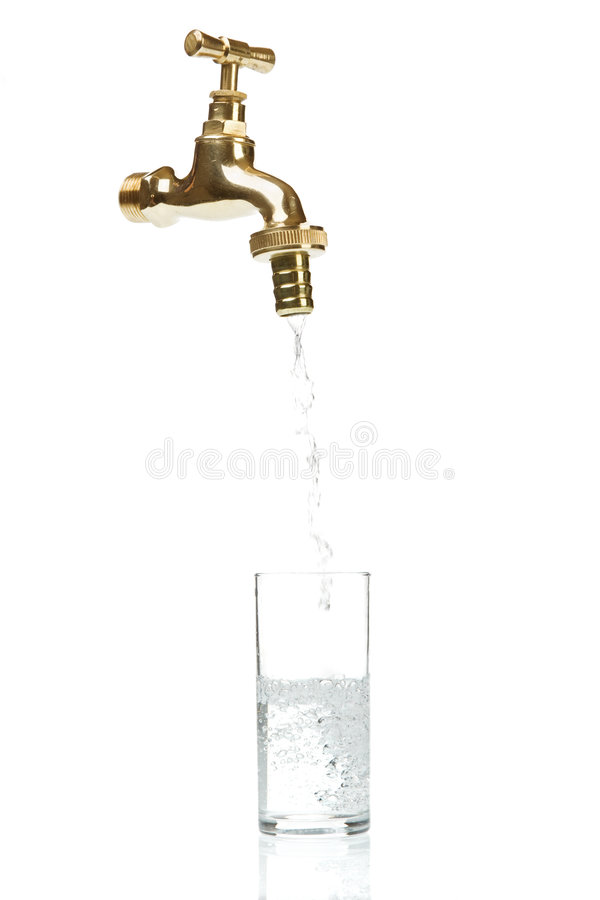 Free Flowing Water Out Of Tap Stock Images - 3133914