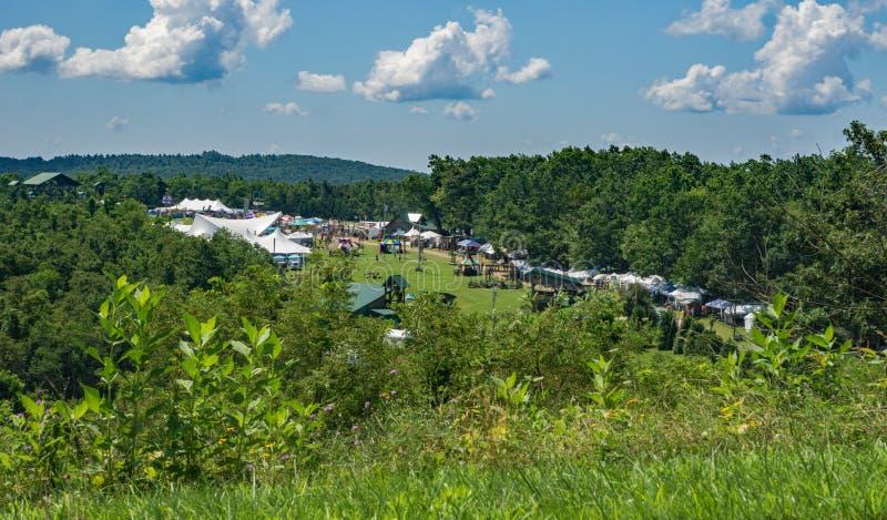 Floydfest 2019, Floyd County, la Virginie, Etats-Unis photo stock