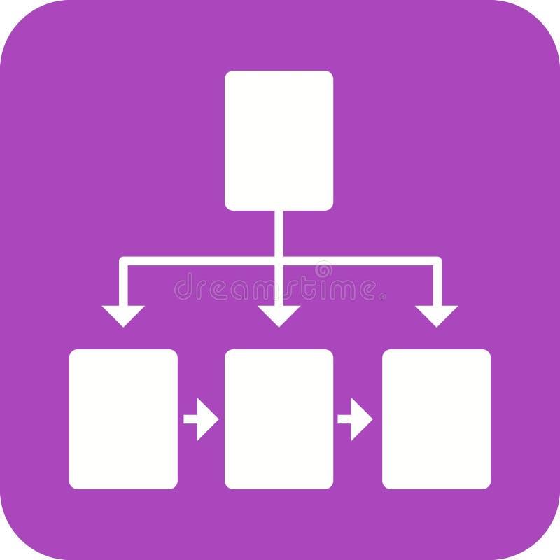flußdiagramm lizenzfreie abbildung
